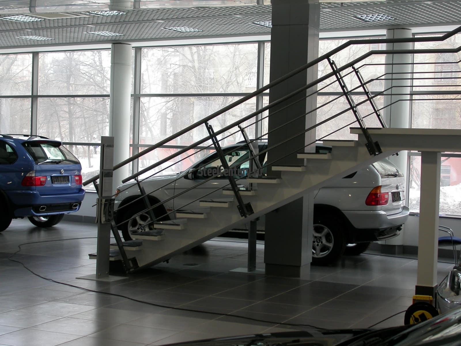 Лестница по проекту