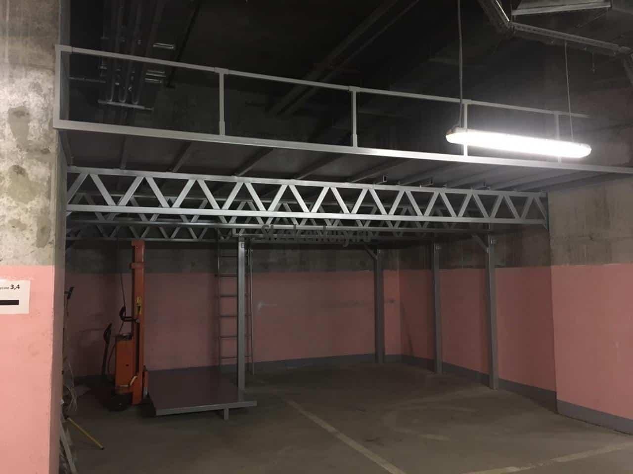 Второй этаж в гараже